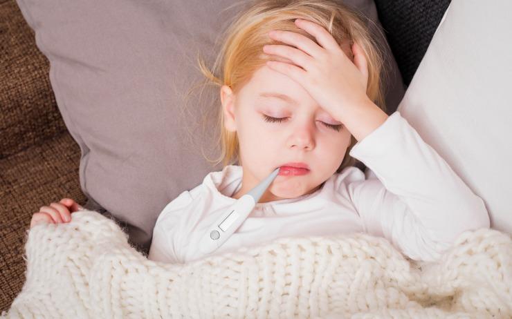 درمان تب بالا در کودکان